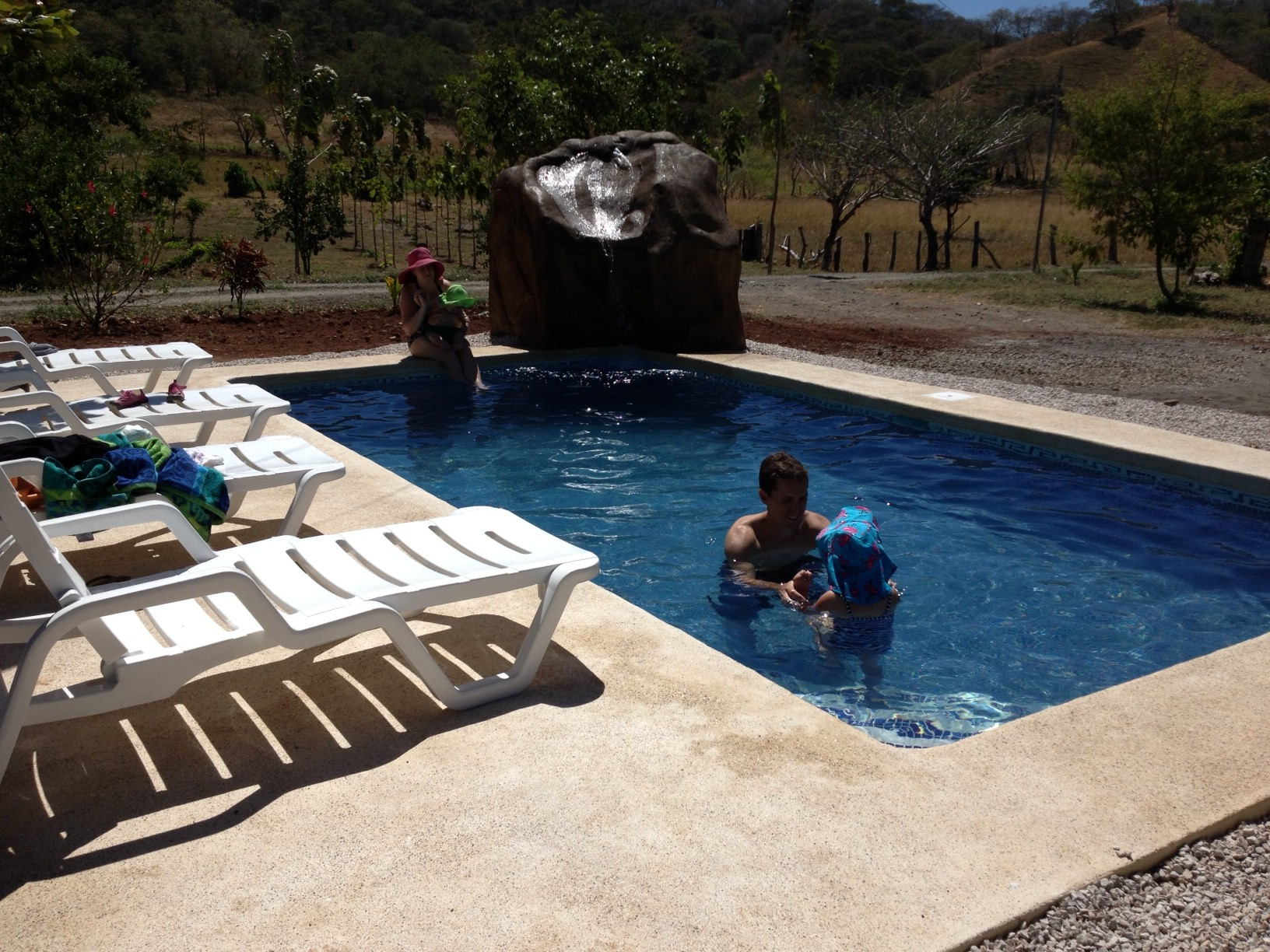 New swimming pool with waterfalls costa rica vacations for New swimming pool