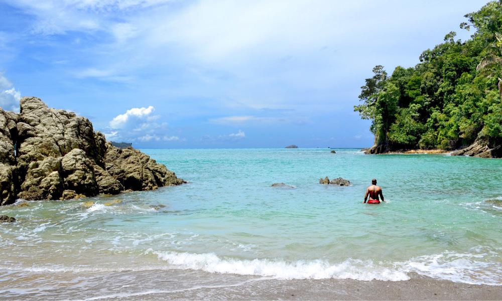 beautiful costa rica beach area