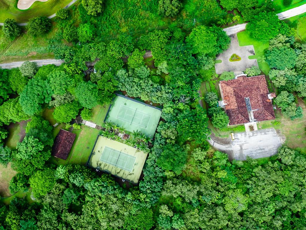 costa rica drone photos