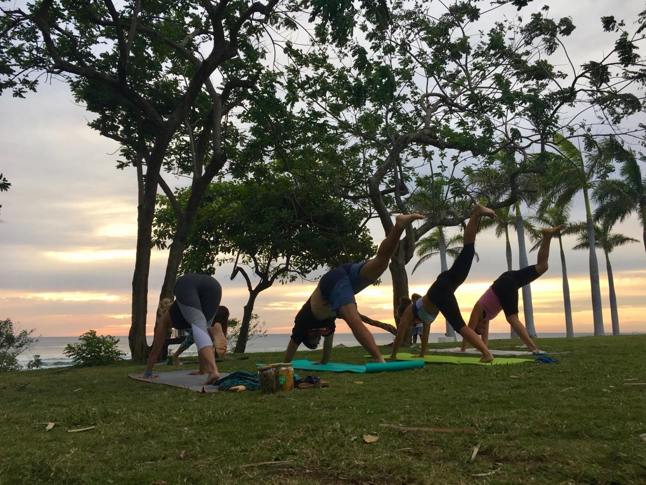 Costa Rican Yoga Class