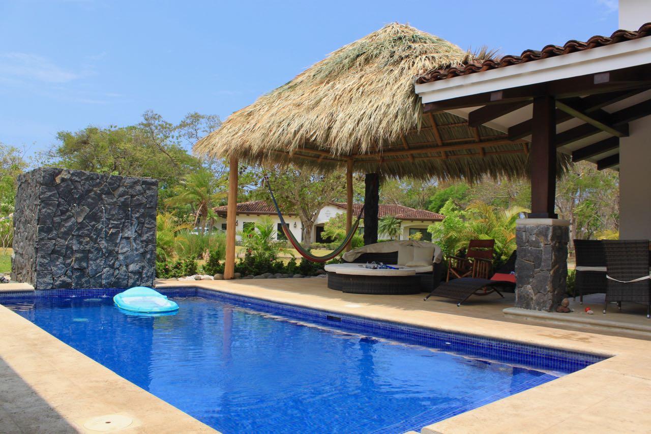 Hacienda Pinilla Villas Pool Relaxation