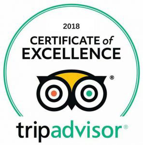 Trip Advisor Excellence Award Costa Rica Vacations