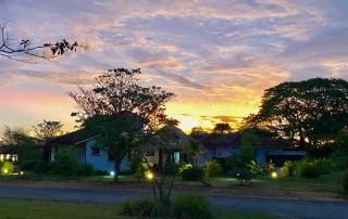 Costa Rica luxury retreats sunset
