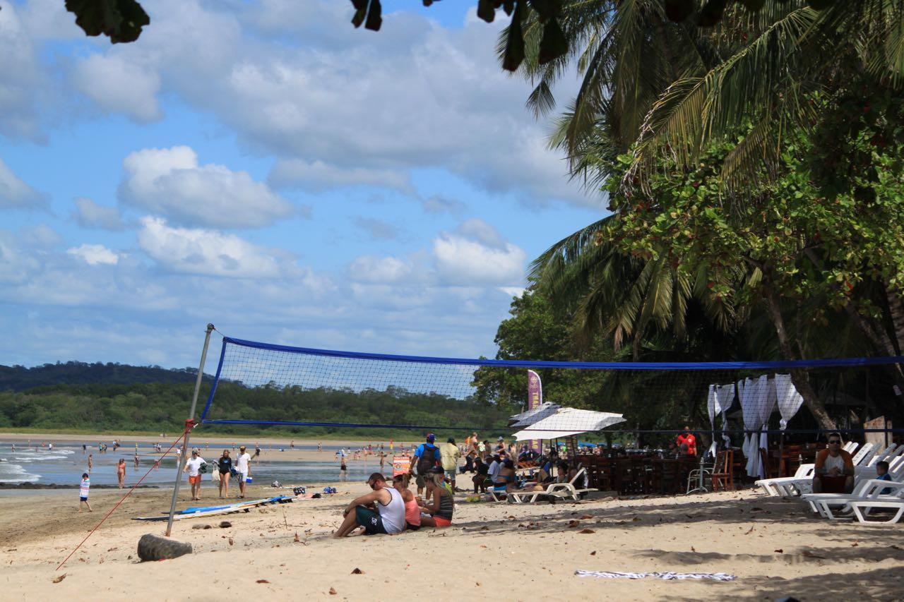 Tamarindo Costa Rica beach volleyball