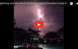 lighting over the great pacific