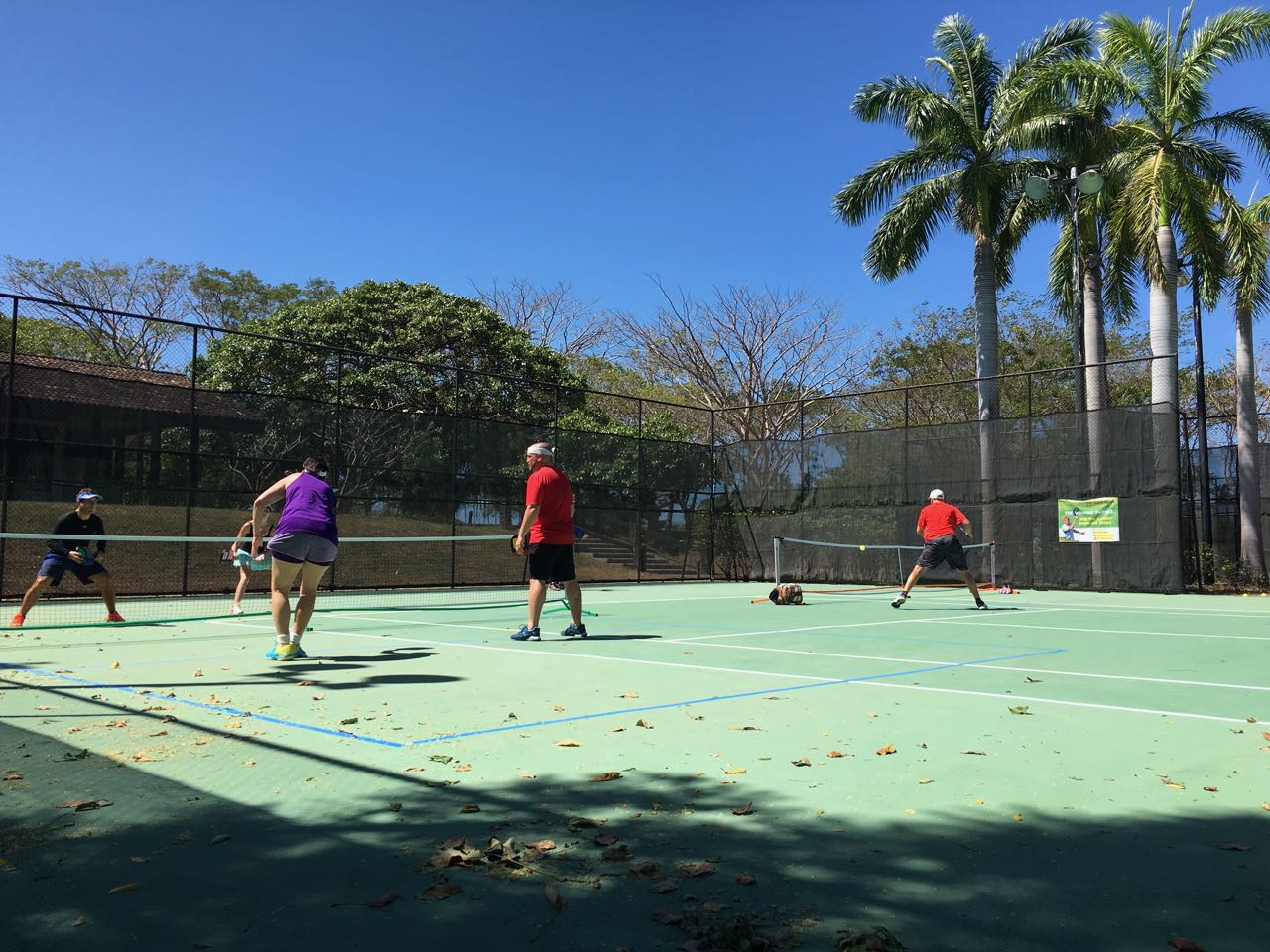 Playing Pickleball by the rules