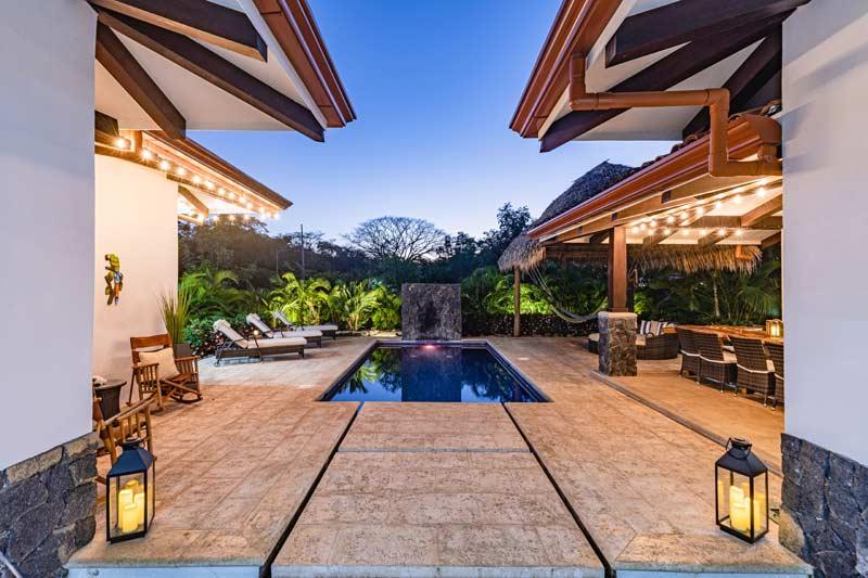 pool in pura vida house