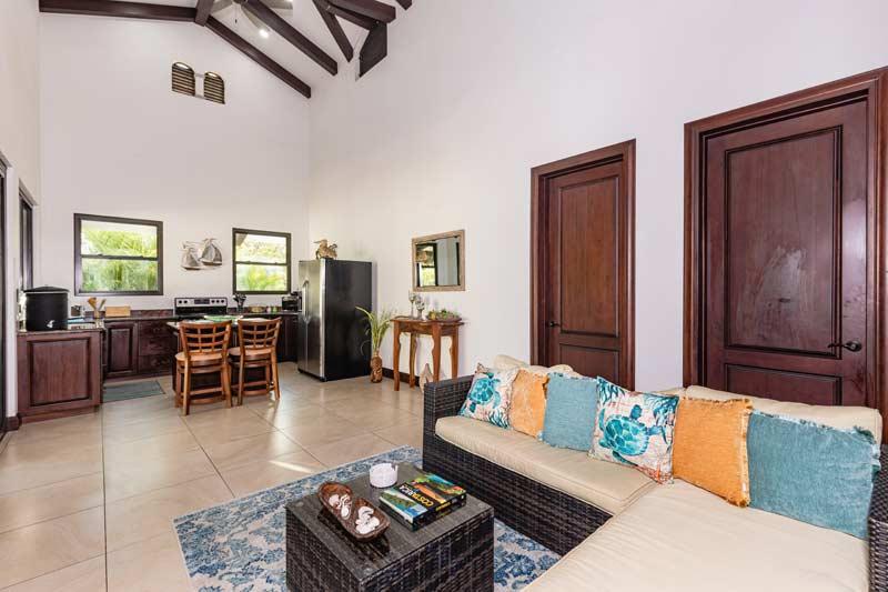 pura vida house living room in bedroom