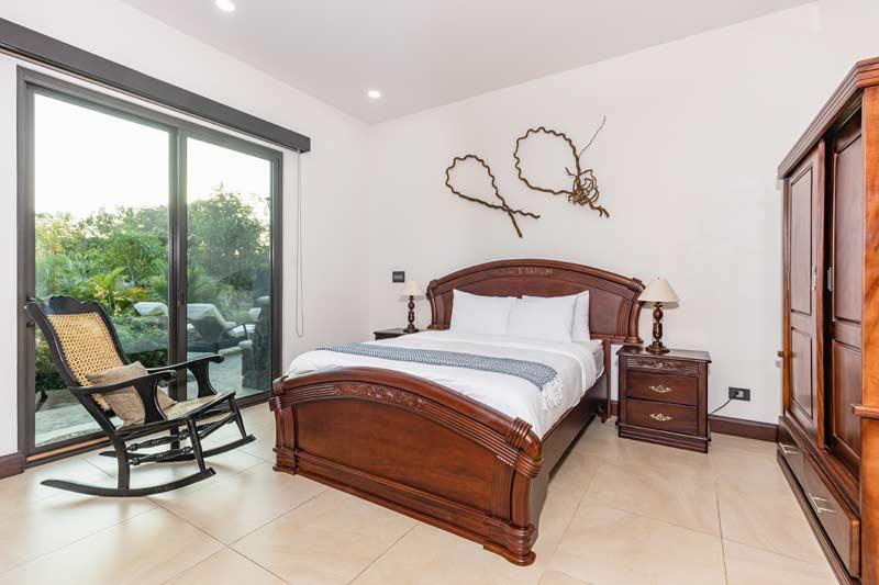 bedroom at pura vida house