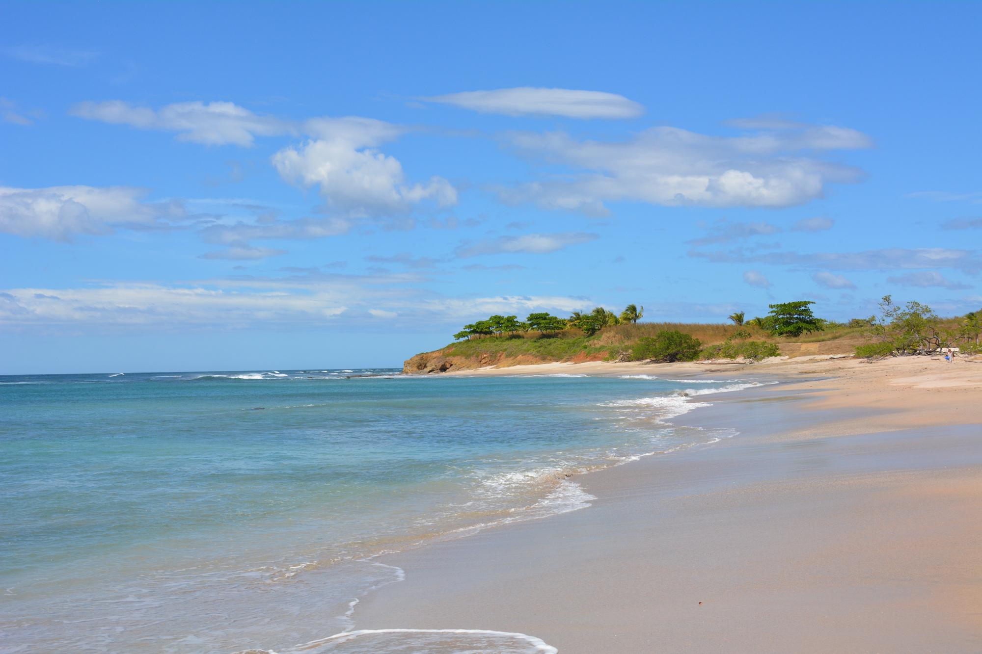 beautiful shoreline in costa rica