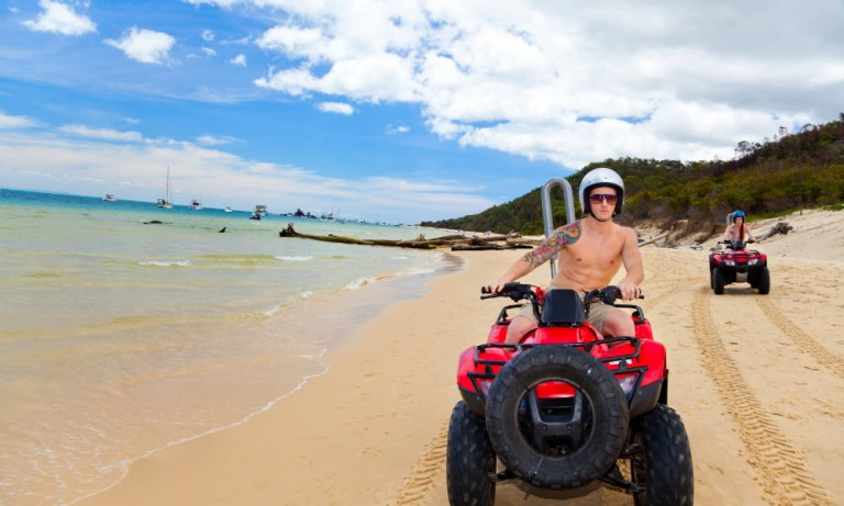 a costa rica beach atv tour