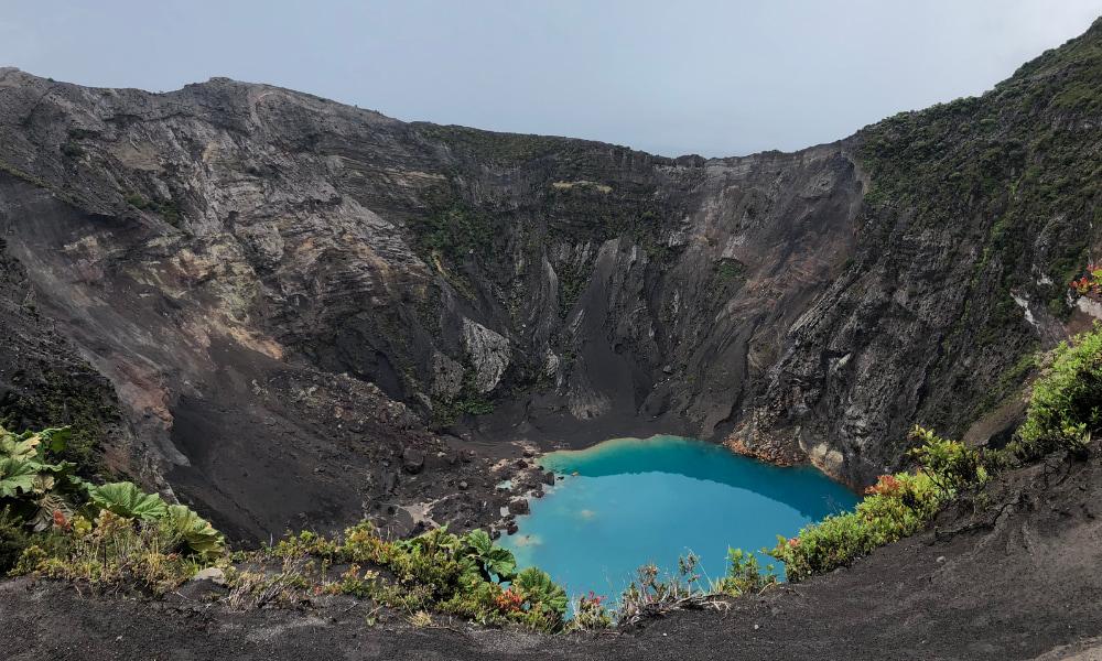 Volcano at Irazu National Park in Cartago