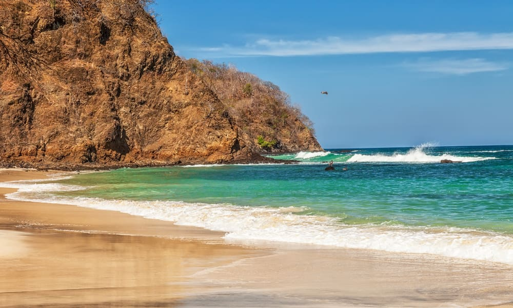 private beach in Liberia Costa Rica